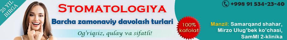 Samarqand shahrida stomatologiya