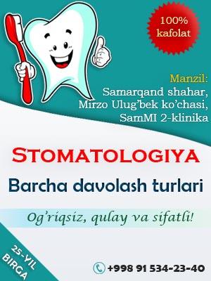 Samarqand stomatolog