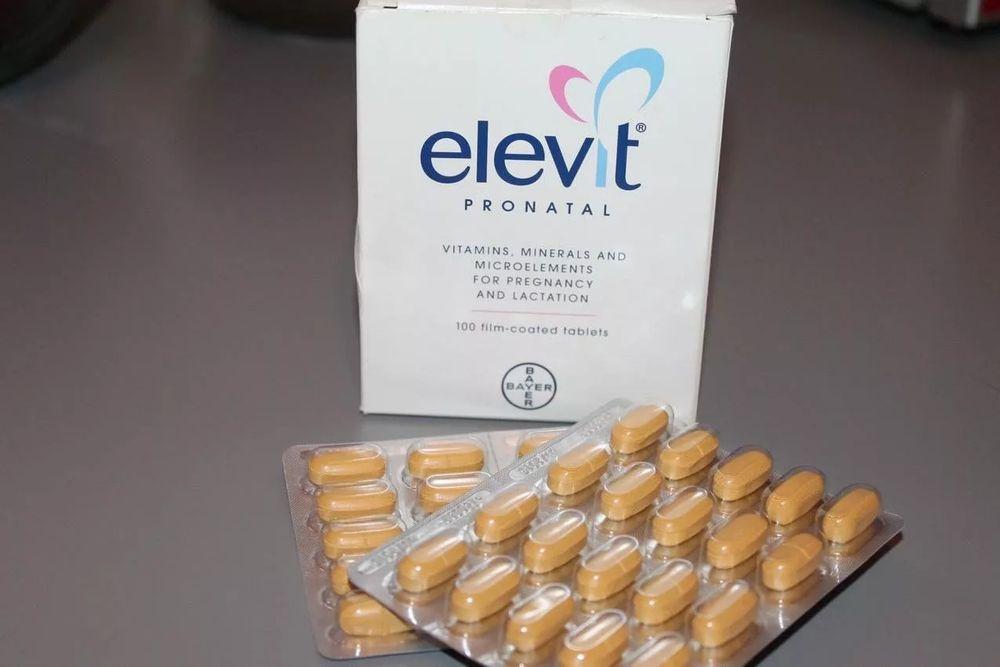 Elevit tabletkasi haqida