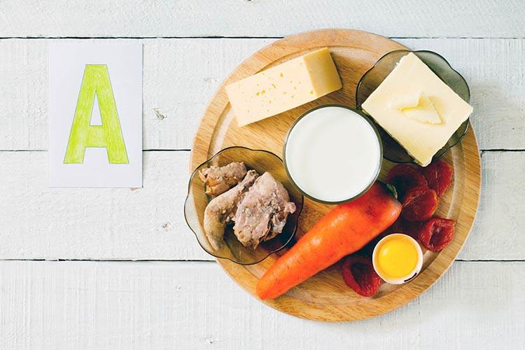 Vitamin A ga boy mahsulotlar
